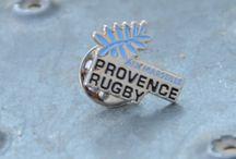 Idées cadeaux accessoires 2016/2017 / Tous les accessoires 2016-2017 estampillés Provence Rugby, mais aussi du matériel rugby : casques, protège-dents, protections...
