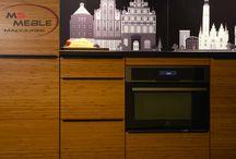Kuchnia z motywem miasta / Zobaczcie wykonaną przez MS-meble kuchnie z motywem miasta na ścianie! Więcej: https://business.facebook.com/msMeble/posts/1056899404377645