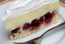 meggyes vanília torta