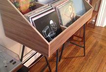 Vinyl Record Shelf