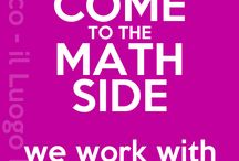 Come to the math side... / math jokes!