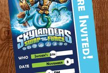 Skylander birthday party