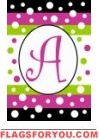 Polka Dot Party Monogram Garden