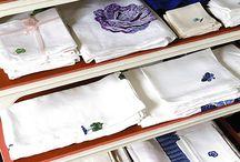 Организационные моменты: хранение белья, посуды, одежды.