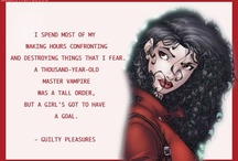 Books-Laurell K. Hamilton-Anita Blake Vampire Hunter / A series of books written by Laurell K. Hamilton and Characters from those books. One of the best authors EVER!!!  / by Marti Reid