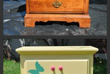 Furniture makeovers / by Kathy Babbitt