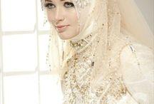 Muslim bridal fashion...Interesting and elegant