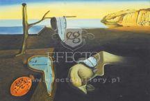 Moje ulubione reprodukcje obrazów / Moje ulubione obrazy: Andy Warhol, Gustav Klimt, Salvador Dali, Edvard Munch, Claude Monet