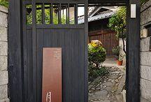 南門餐廳的門