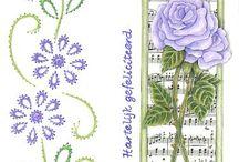 Projetos para experimentar / plantas,cartões, crochet, kirigami, string art, etc...