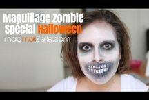 Tutoriel maquillages de zombie