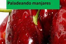 Saborea / Paladeando manjares