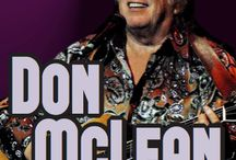 """DON McLEAN / Singer-songwriter and American troubadour Don McLean, in an intimate performance including classic hits Vincent, Crying and the epic top five """"song of the century"""", American Pie! At The Newton Theatre 12/5/2015 http://www.thenewtontheatre.com/event/018602dbf2ecaef1eae9c46e7cad0eeb"""