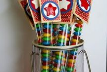 1x8 treat sticks / by Melissa Souliere