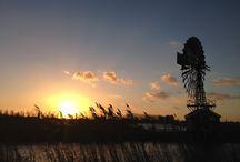 Sunset, Sunrise, Clouds & the Sky