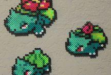 Pokémon hama beads
