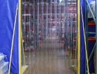 Strip Doors / Strip doors are used to create pathways to rooms or industrial curtain enclosures for personnel and forklifts. http://www.amcraftindustrialcurtainwall.com/products/pvc-strip-curtain-doors/