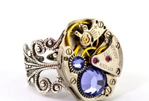 Steampunk and Clockwork Jewels / Fabulous imaginative designs