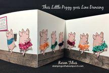 Cards - SU This Little Piggy