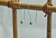 Peridot gemstone jewelry is so beautiful! / Lovely peridot beauties, all handcrafted by fabulous Etsy artisan jewellers