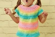 Children's Knitting Patterns / Knitting patterns for children's clothes, outfits and accessories.