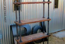Vintage Industrial Decor