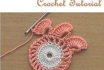 Pretty flowers crochet 3d