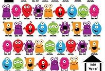 Children: Theme Monsters