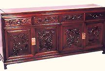 Rosewood Bedroom Furniture / 100% hand crafted including breathtaking carved dragon design. Fine brass fittings. Deep rich wood grains finished to mirror smoothness. Skilled artisanship evident in the silk like operation of the four doors and four drawers. Your dining room will achieve new heights of elegance. Browse our wide array of solid rosewood Oriental furniture to complete your design vision