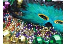 Mardi Gras or Carnivale Celebration Ideas, Photos, and Gifts / Images featuring Mardi Gras, Carnival / Carnivale photos, gifts, party planning and other ideas.