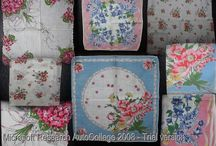 Vintage Linens / This board includes  tablecloths, doilies, dresser scarves, pillow shams, comforters, and blankets