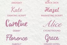 Script fonts