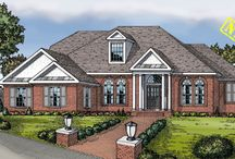 Colonial House Plans / These are some of our most popular Colonial House and Floor Plans. To see our full collection, visit our site here http://www.dfdhouseplans.com/plans/colonial_house_plans/ / by DFD House Plans