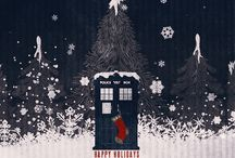 Festive dr who things