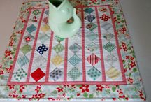 Mini Quilts / Miniature quilts have been a passion of mine for years.  I enjoy the challenge of working with small pieces to create something beautiful. / by Pamela Boatright