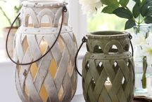 Lanterns, Votives, Light, Candle Pot