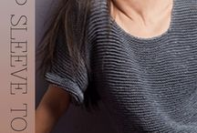 knitted/crochet garment / crochet and knitted style's