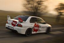 Valašská Rally (Mitsubishi Lancer Evo IX) / Safety car for 2012 race.