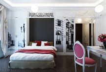 Спальня в стиле / Достойный, но не рожденный  проект. Остался в чертежах, картинках , воспоминаниях и сожалении о нереализованных возможностях