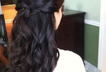 bridal party hair / wedding hairstyle ideas  / by Lauren