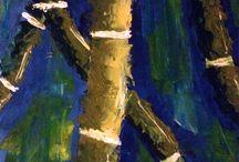 Mis Pinturas / En mi tiempo libre me gusta pintar, me distrae, me emociona, me relaja, me absorbe por completo, a veces pienso que debería tener una montaña de acrílicos y otra de lienzos y pasarme 24 horas enteras pintando.... algún dia :)