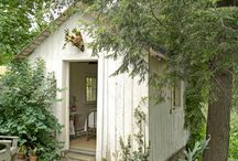 garden shed / by Danielle Yeager Heizenroth