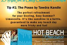 HOT ROMANCE BEACH Reads (Sand, Sunshine, and Sizzling Romance) / Ready for a summer escape? Get 15 contemporary romance stories by best-selling and award-winning authors for 99¢! Each novel and novella has a beach setting, an irresistible love story with HEA, and high sizzle factor. Slather on the sunscreen, grab a cool drink, and get ready to get hot!