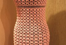 meus trabalhos / Moda feminina,jogos de banheiro de croche