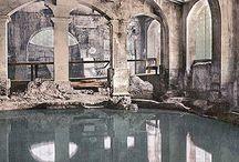 Sanus Per Aquam (SPA) / Healing spa waters from around the world.
