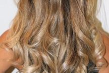 Ombre hair - brown to blonde
