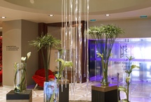 Le Hall - Hôtel Gray d'Albion - Cannes /  Décoré dans un style contemporain, cet hôtel de luxe sur la Côte d'Azur excelle dans l'art de vous recevoir avec