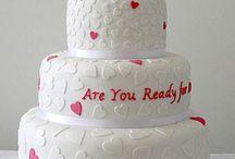 Wedding cake idea's