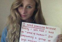 I Need Feminism Because...