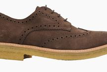 LSQ Leisure Shoes / The current stunning collection of LSQ Shoes' leisure shoes. Sumptuous suede shoes with crepe soles.